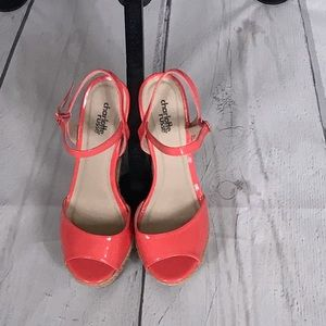 Charlotte Russe Stripped Wedge